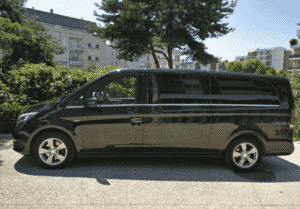 Mercedes Classe V chauffeur privé vtc taxi courchevel Savoie